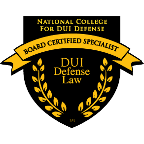 National College for DUI Defense DUI Defense Law Board Certified Specialist